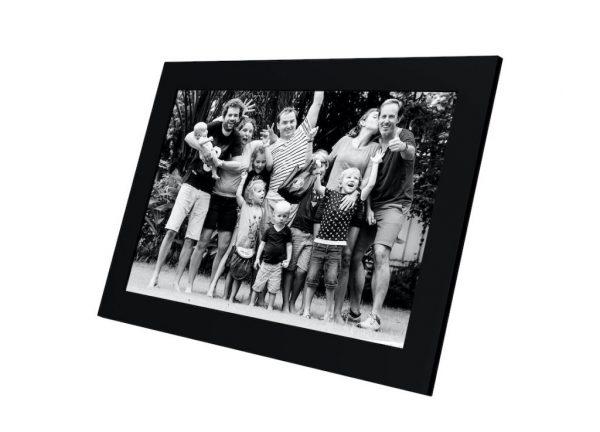 Familiefoto delen met Frameo fotolijst met Wifi