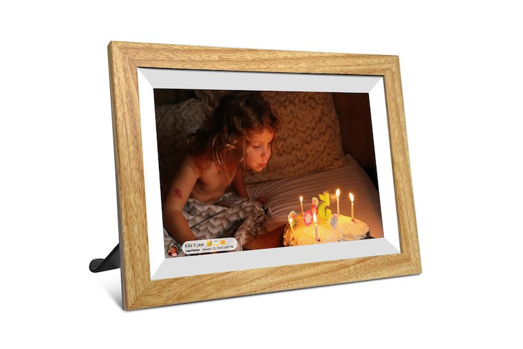 """10"""" inch houten fotolijst"""